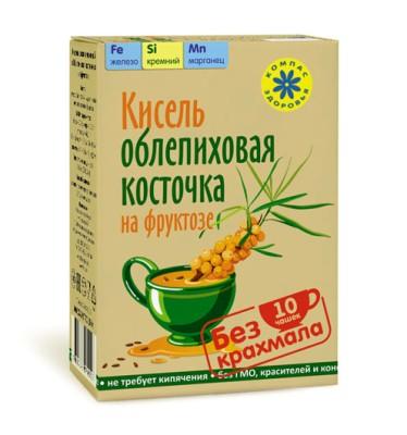 """Кисель """"Облепиховая косточка на фруктозе""""(зерновые кисели)"""